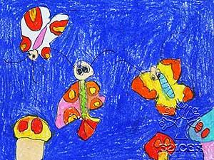 女儿在幼儿园快乐成长(图);; 看着她快乐的样子; 新学会的英语单词图片