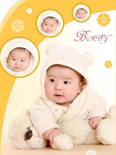 宝宝百天照(; 可爱宝宝百天照 生日记念 宝宝秀 - 可爱宝宝图片照片分