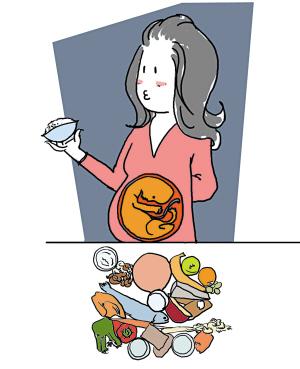 易致胎儿畸形的5大食物杀手