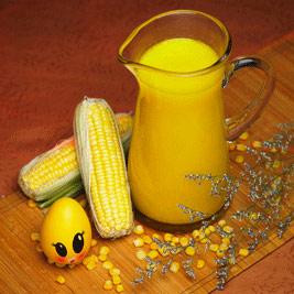 4个月婴儿辅食:玉米汁