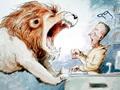 《图书馆狮子》