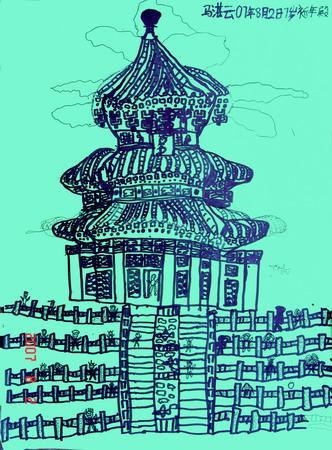 故宫手绘线描大图