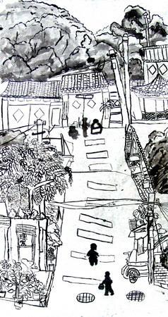 组图:名胜古迹之北京胡同(3)