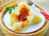 火腿咸肉粽
