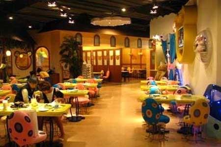 芭迪熊主题餐厅