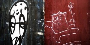 特拉维夫街头的漫天涂鸦