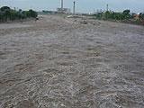 房山堤坝房屋被冲毁