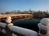 西城:北海公园雪后初晴