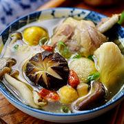 鲜掉眉毛的菌菇土鸡汤