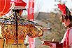 实拍:圆明园的皇家庙会(组图)