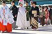 实拍:日本传统婚礼(图)
