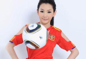 徐黛妮:西班牙足球宝贝