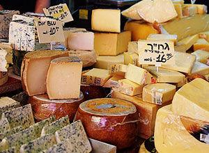 上百种的奶酪制品