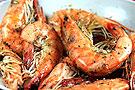 黑椒烤大虾吃着超过瘾