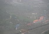 震后的北川老县城