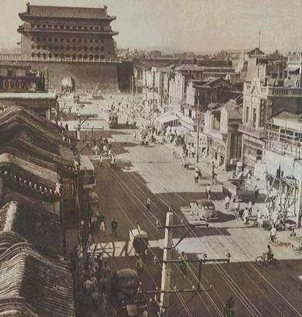 消失的北京古巷胡同(组图)图片