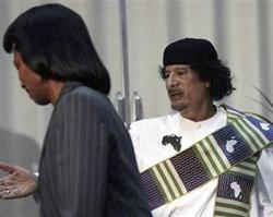 赖斯与卡扎菲父子说不清的故事