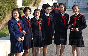 朝鲜小孩着装