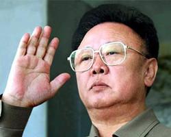 登上朝鲜之巅的金正日
