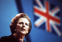 """铁娘子撒切尔:""""支持我就是支持英国!"""""""