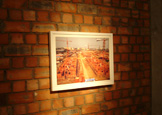 """创意的""""重建墙""""展览区"""