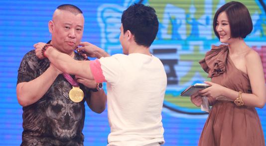 小胖冯哲亲授郭大厨奥运金牌