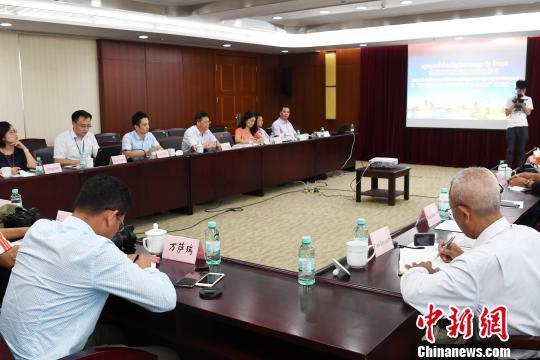 广西北部湾经济区扩大开放力度盼与柬埔寨加强港口合作