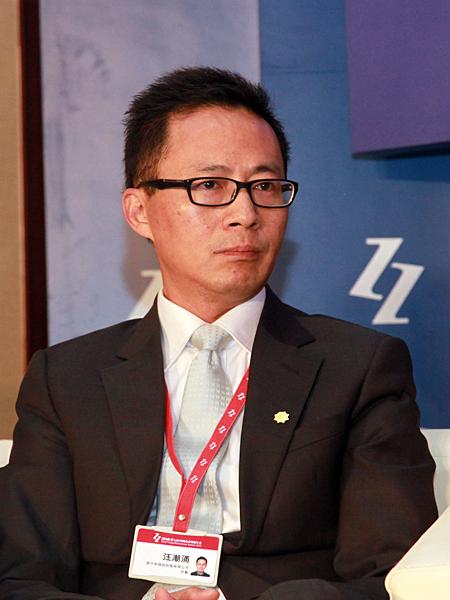 信中利国际控股公司总裁汪潮涌