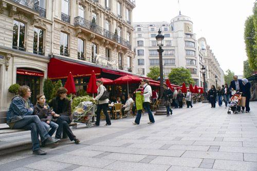 在法国,苏州人的购物路径。