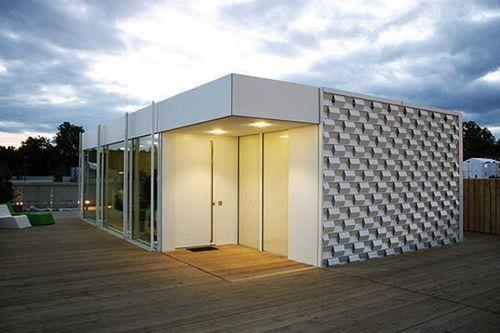 IKAROS House 坐落于德国,因为能很好的利用太阳能而闻名。