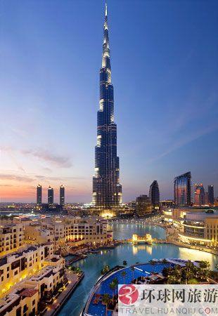 世界上最高的建筑物:迪拜,哈利法塔(迪拜塔)