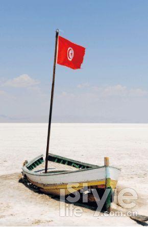 突尼斯 吉利特盐湖