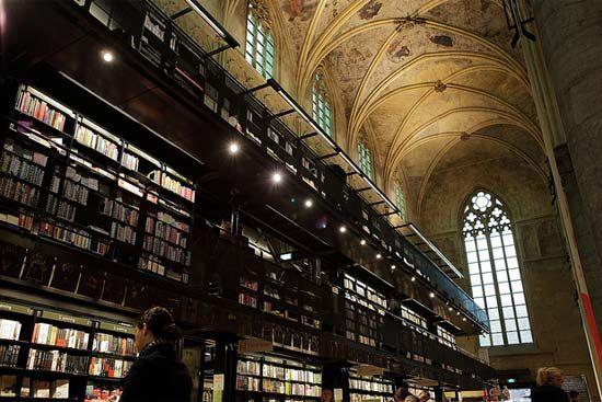 荷兰马斯特里赫特,教堂书店