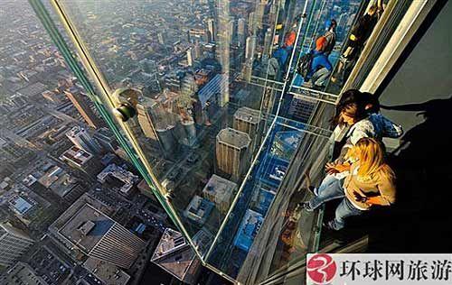 芝加哥希尔斯大厦摩天台