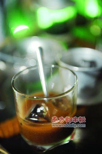 越南的研磨咖啡