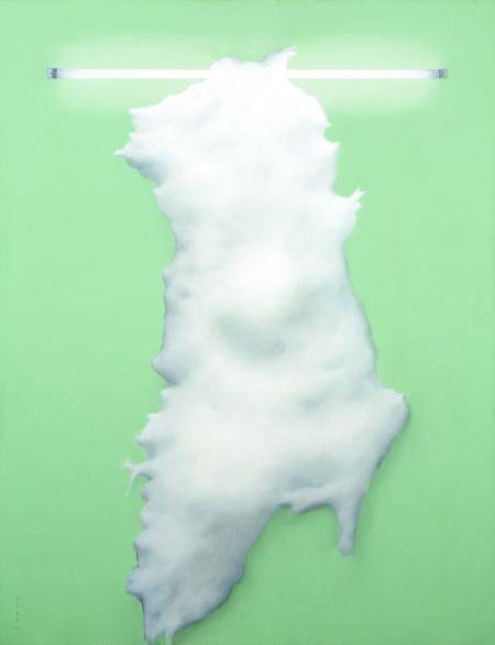 印尼 苏普塔弹奏《平面影儿子系列》之《木棉之壹》146万港元 香港苏富比 2011年4月4日