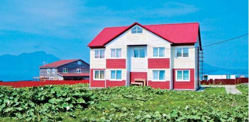 海边经常可见这样的小屋