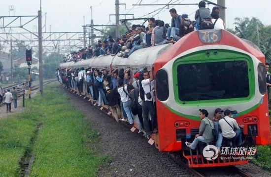 见过这样的火车吗?