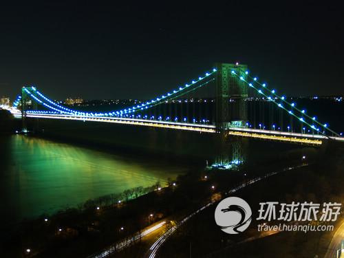 纽约的乔治-华盛顿桥