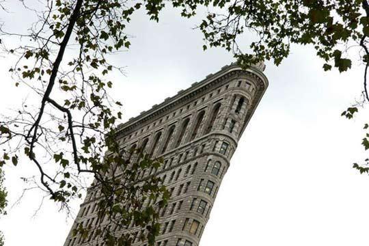 纽约著名的熨斗大厦