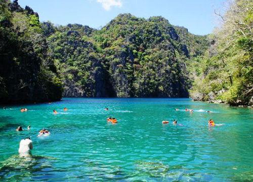 海上秘境――嶙峋山石中隐秘的大小泻湖