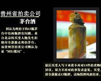 贵州假茅台拍卖事件