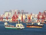 繁忙的码头(防城港市)