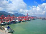亚欧大陆桥东方桥头堡-江苏连云港港口
