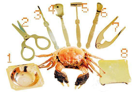 小知识:蟹八件