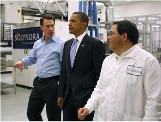 2011年奥巴马参观Solyndra公司