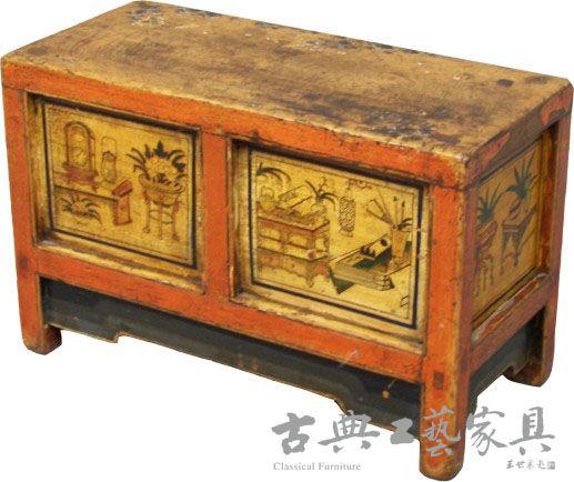 图7 18世纪清代蒙古经桌