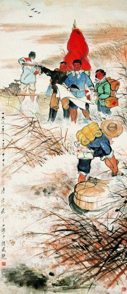 唐云(1910-1993)人民大丰收