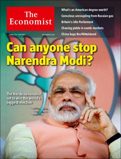 图为最新期《经济学人》封面