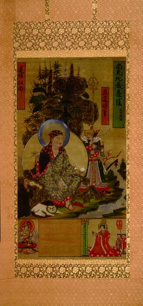 图9 敦煌绢画《地藏菩萨像》